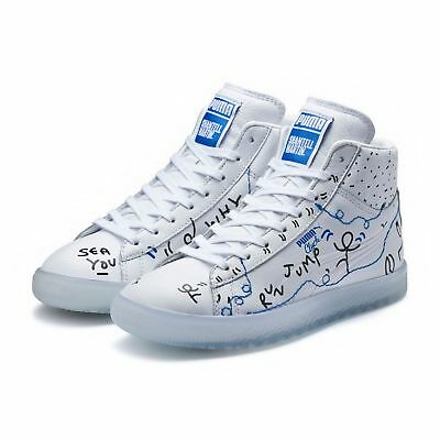7100f549c5ee PUMA PUMA X SHANTELL MARTIN Clyde Mid Sneakers Men Low Boot New ...