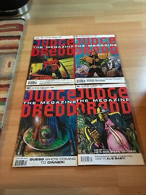 Judge Dredd The Megazine Complete Volume 1. Excellent condition/all gifts.(1-20)