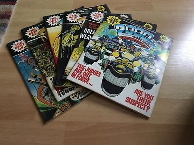 2000 AD Monthly Specials x6. Vintage lot, fantastic condition