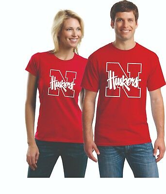 University of Nebraska    Cornhuskers T SHIRTS UP TO 5X