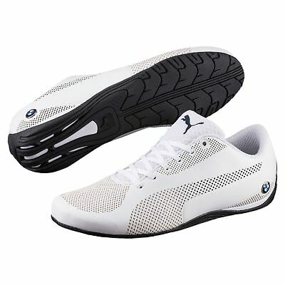 NIB MEN S PUMA BMW Motorsport Drift Cat 5 Ultra Training Shoes White ... 508f5768cd5d2