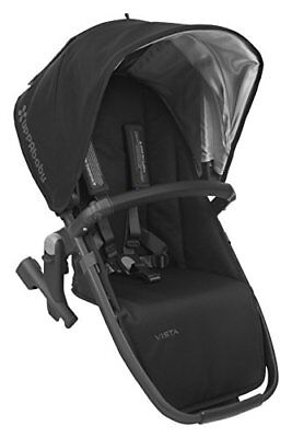 UPPAbaby VISTA RumbleSeat Black/Carbon/Leather Jake
