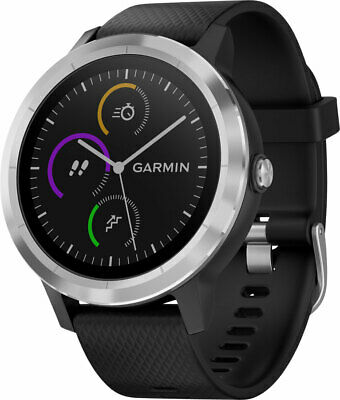 Garmin vivoactive 3 GPS Smartwatch Black with Stainless Hardware