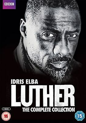 Luther: Series 1-4 (Box Set) [DVD]