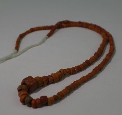 Ancient Roman Glass Bead Necklace Circa 2Nd Century Ad - No Reserve!!! 1011