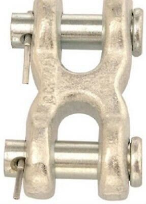 "Campbell (T5423300) 1/4"" to 5/16"" Double Clevis Link (Grade 43) - Lot of 7"