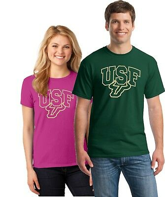University of South Florida - USF -  BULLS  TEE SHIRTS UP TO 5X