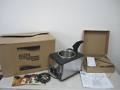 Server Food Server Supreme FSPW-SS Dispenser and Condiment Warmer with Pump