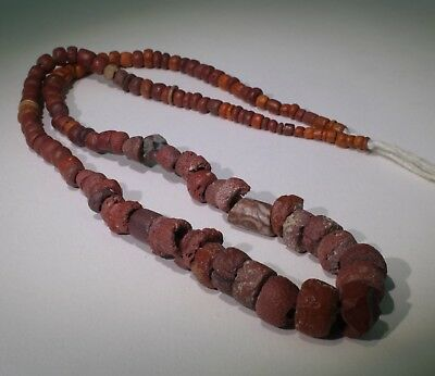 Ancient Roman Glass Bead Necklace Circa 2Nd Century Ad - No Reserve!!! 04