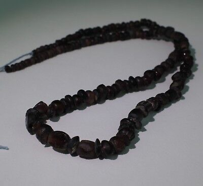 Ancient Roman Glass Bead Necklace Circa 2Nd Century Ad - No Reserve!!! 103