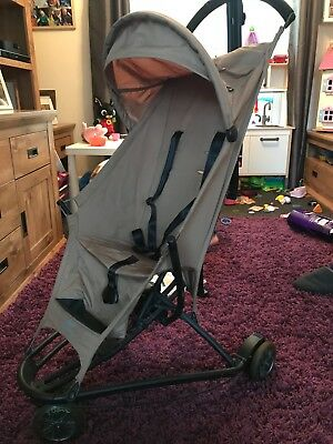 Quinny Yezz pushchair used brown. Good condition