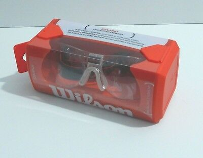 Wilson Omni Protective Eyewear Racquetball Squash Antifog Large Fits 16+