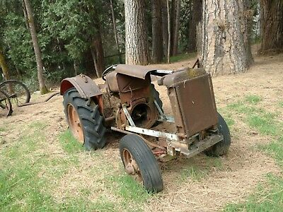 Antique 1930-40's McCormick Deering Tractor FOR PARTS OR RESTORATION yard art