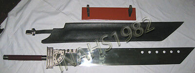 """Cloud Buster Sword 52"""" With Free Display Stand Sheath"""