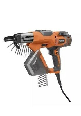 RIDGID Screw Gun 3 Drywall and Deck Collated Screwdriver Corded Electric Tool