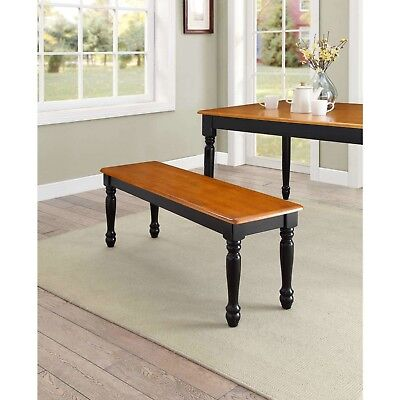 FARMHOUSE BENCH FOR Dining Table Benches Kitchen Room Wood ...
