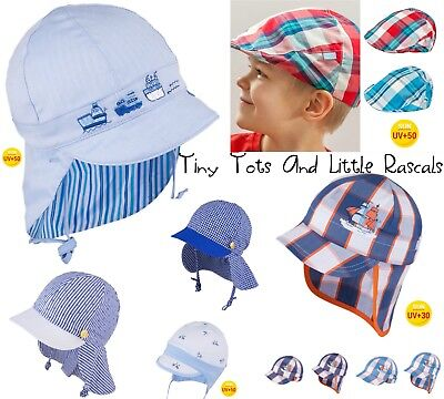 Infant Boys Toddlers Summer Sun Hat Legionnaire Holiday Beach Cap 0 - 12 years
