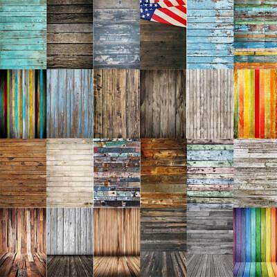 Wooden Board Plank Backdrop Vintage 3x5/5x7/6x9FT Photos Studio Props Background