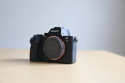 Sony Alpha a7 II 24.3MP Mirrorless Camera - Body Only- Excellent - 35 SHUTTER CT