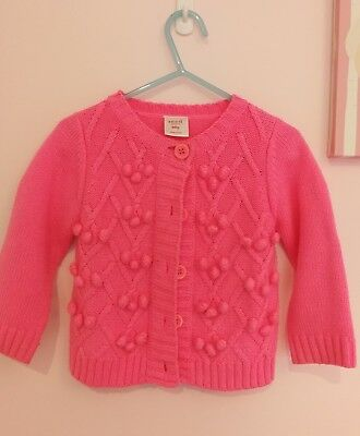 Seed heritage baby girl cardigan size 18~24mths