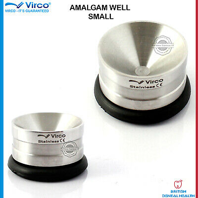 Non Slip Amalgam Mixing Well Restorative Amalgam Pot Stainless Steel Laboratory