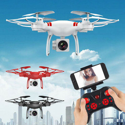 Wide Angle Quadcopter Drone HD RC One Key Return Drone Helicopter With/No Camera