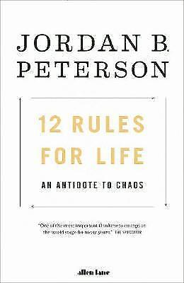 BRAND NEW - 12 Rules For Life (Paperback) by Jordan B Peterson