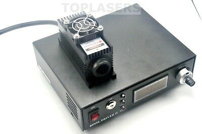 Lab 808nm 3w 3000mW IR Laser Module + TTL/Analog + TEC + Adjustable Power Supply