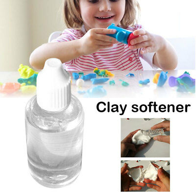 Clay Softener Safe Nontoxic Transparent 30ml Liquid Polymer Smoothing Oil
