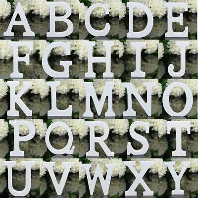 Letters Alphabet Freestanding Wooden Block Personalised Word Wedding Party Decor