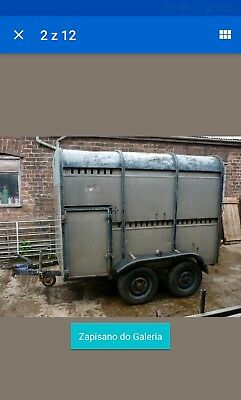 Ifor Williams Livestock Sheep Cattle Trailer