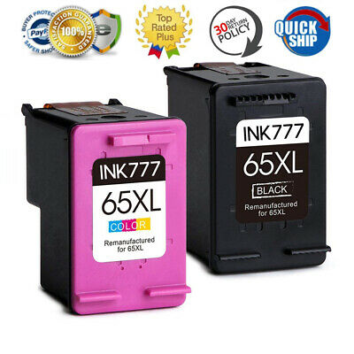 Multi-Pack Ink for HP 65XL Deskjet 2624 3720 3722 3730 3752 3755 ENVY 5020 5030