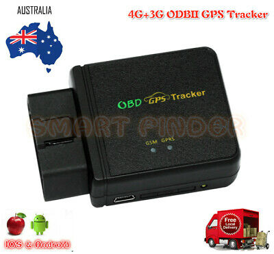 3G OBDII GPS Mini Tracker Live Realtime Vehicle Car Spy OBD2 Tracking Device