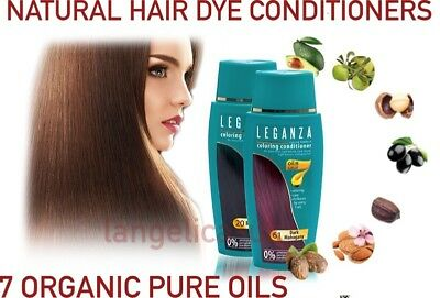 16 Natural Hair Dye Colourant 7 Organic Pure Oils Conditioners Safe Dye