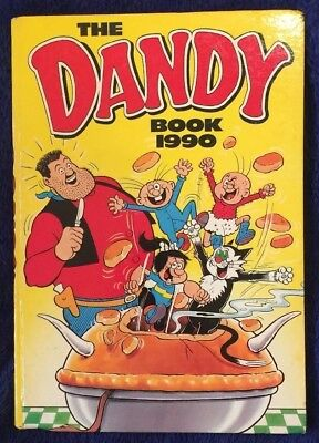 Very Good, The Dandy Book 1990 (annual), Unknown, Book