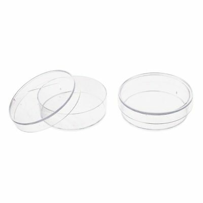8X(10 pcs. 35mm x 10mm Sterile Plastic Petri Dishes with Lid for LB Plate Y O4S5