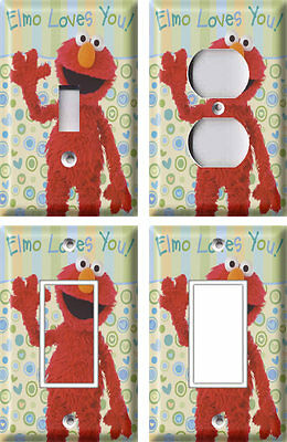 Elmo - Light Switch Covers Home Decor Outlet