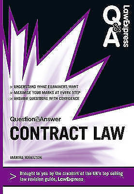 Law Express Question and Answer: Contract Law (Q&A Revision Guide) by Marina Ha…