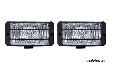 "UNIVERSAL 12v CAR SUV 4X4 OFFROAD CLEAR FOG SPOT LIGHTS LAMPS 5.83""x2.95"""