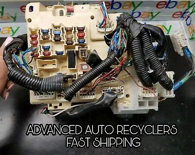 fuse box engine without day time running lights fits 99-03 toyota solara  camry