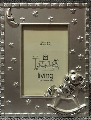 DEBENHAMS NEW MINI Picture Frame with stars, moon, rocking horse ...