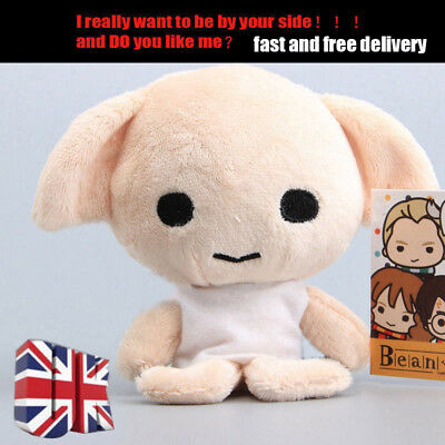 Funny Harry Potter Beans-Dobby Beanie Soft Stuffed Doll Plush Toy kids Gifts~