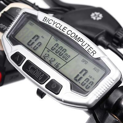 Bike Bicycle Cycling Computer Bike Speedometer Speedometer Backlight Uk Seller