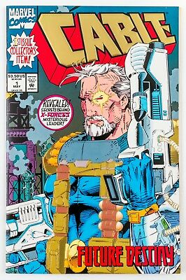 Cable #1 (1993 Marvel) Gold Foil Embossed Cover! NM