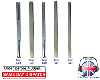Spindle Bar Plain / Split Short Long 30mm-140mm For Door Handles & Upvc windows