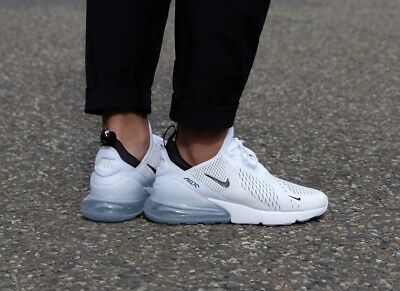brand new 4999f da627 NIKE AIR MAX 270 Ah8050 100 White Black White Brand New Uk Sizes 7 8 ...
