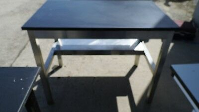 """30"""" X 48"""" X 36"""" Tall Composite Top Stainless Steel Laboratory Work Bench/table"""