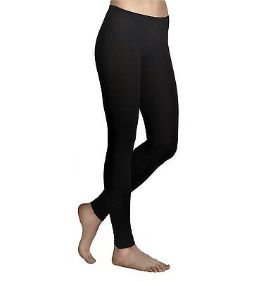 New Womens Ladies Plain Basic Leggings Full Length Legging Plus Sizes 8 To 28
