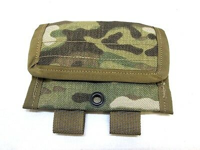 "NEW ARMY OCP SMALL MULTICAM MOLLE POUCH HOOK & LOOP CLOSURE POCKET 5""x3.5"""