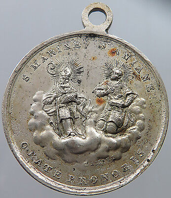GERMANY MEDAL 1816 RELIGIOUS  ORATE PRONOBIS 34MM  #p19  157